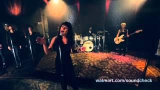 Cannonball - Lea Michele [LIVE WALMART SOUNDCHECK]
