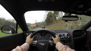 2015 Bentley Continental GT Speed POV Test Drive