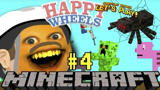 Annoying Orange Plays - Happy Wheels: Minecraft #4