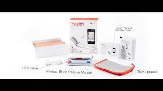iHealth Feel Wireless Blood Pressure Monitor