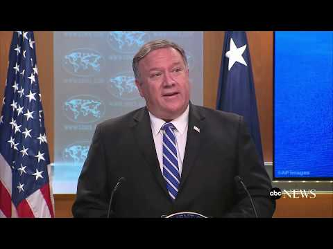 Iran responsible for attack on two tankers: Pompeo
