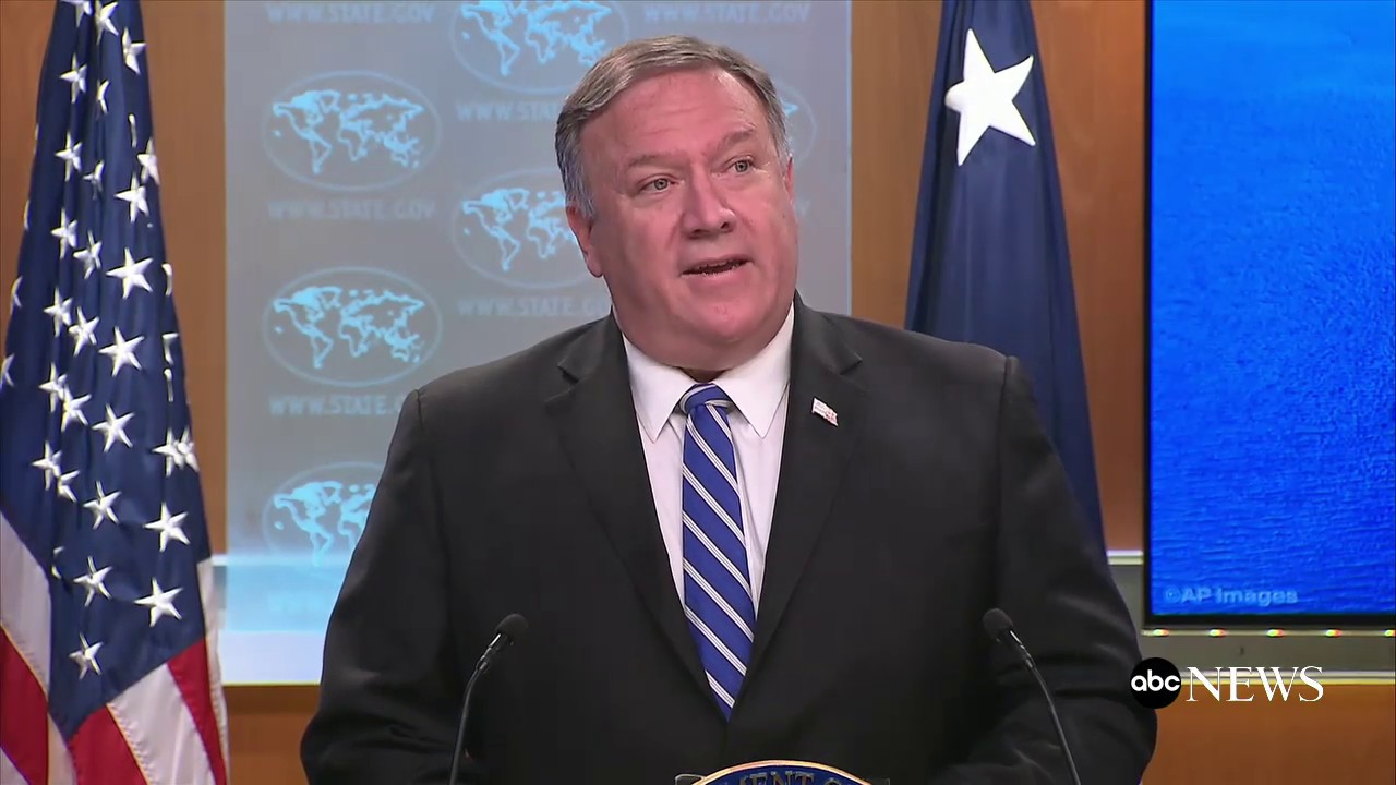 ABC News:Iran responsible for attack on two tankers: Pompeo