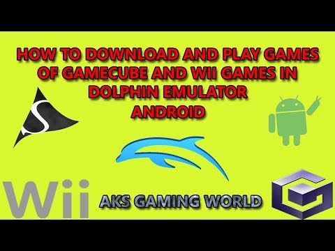 HOW TO DOWNLOAD AND PLAY GAMES OF GAMECUBE AND WII GAMES IN DOLPHIN EMULATOR ANDROID