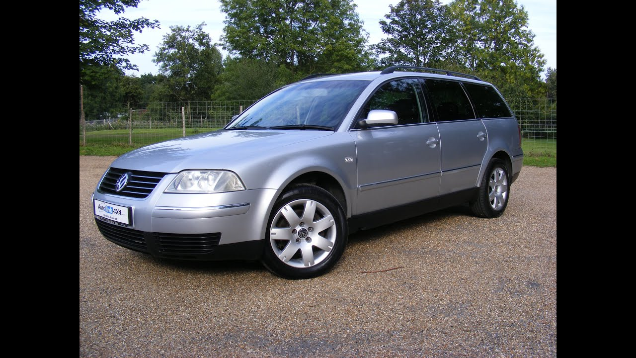 2003 volkswagen passat 1 9 tdi 4motion sport estate youtube. Black Bedroom Furniture Sets. Home Design Ideas