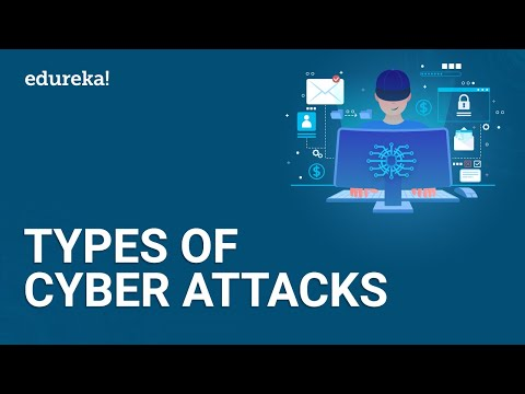 8 Most Common Cybersecurity Threats   Types of Cyber Attacks   Cybersecurity for Beginners   Edureka