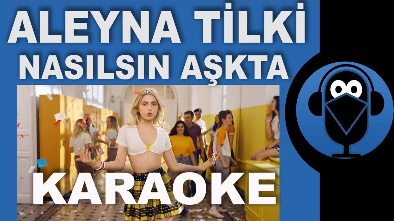 Aleyna Tilki - Nasılsın Aşkta? Cornetto / KARAOKE / Sözleri / Lyrics / (Cover) Remix