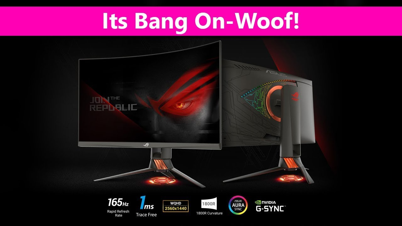 ASUS ROG PG27VQ Curved Gaming Monitor REVIEW 🔥🔥🔥 - G-Sync 1440P 165Hz  1Ms response - Its Epic