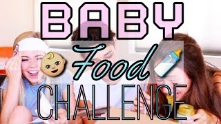 The Baby Food Challenge w/ Justice Carradine & Griffin Arnlund