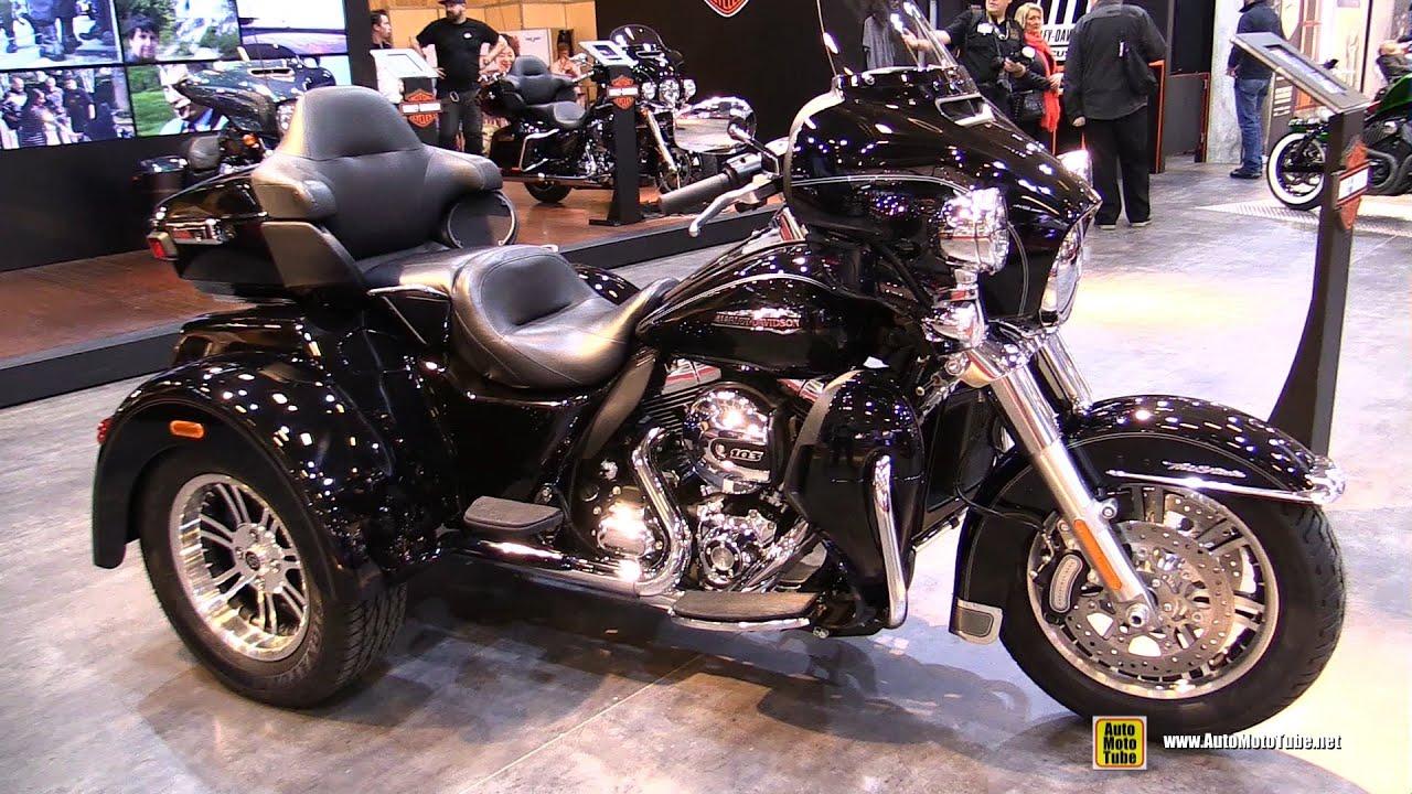 Extrêmement 2016 Harley Davidson Tri Glide Ultra - Walkaround - 2015 Salon de  EC45