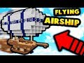 FLYING AIR SHIP!?   Minecraft Modded Factions #6