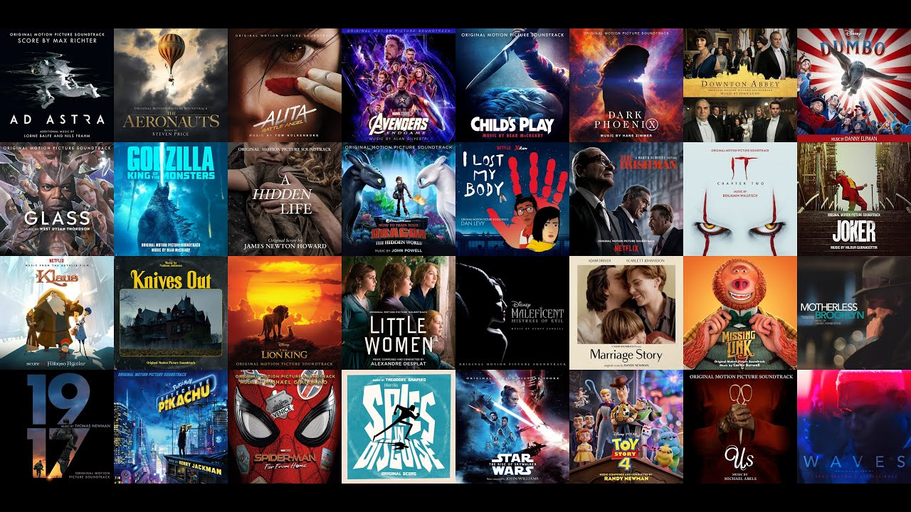 Best Movie Soundtracks 2019 The Most Beautiful Epic Awesome Scores Youtube