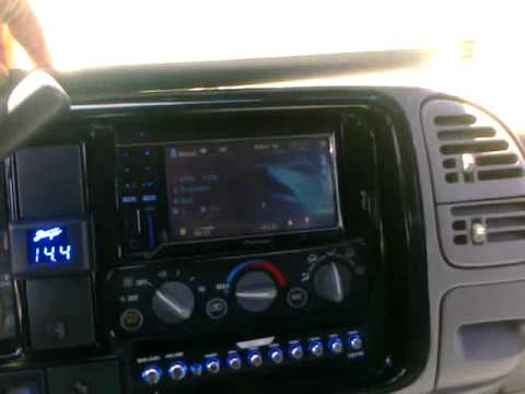 99 tahoe with Pioneer AVH 3200BT (Thee Suspect)!!! =D ...