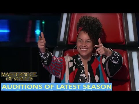 AMAZING AUDITIONS IN THE LATEST SEASON OF THE VOICE