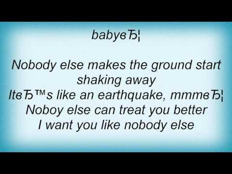 15389 Nick Kamen - Nobody Else Lyrics