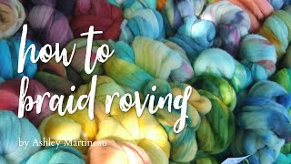 How to Braid Wool Roving(Braiding wool roving is a beautiful way to display it for sale in a booth or an online shop. I find that using a simple chain method is the easiest. This Free Tutorial ..., 2011-05-04T22:11:55.000Z)