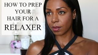 How To Prep For A Relaxer | Dominique of Style Domination