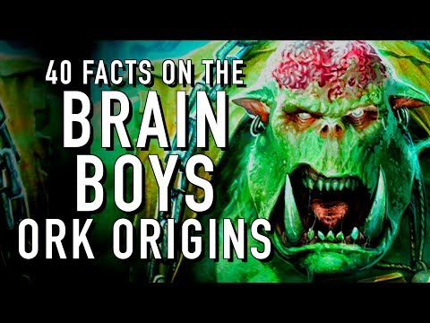 40 Facts and Lore on the Krork of Warhammer 40K Ork Origin story