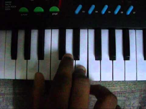 KOI MIL GAYA TUNE ON PIANO