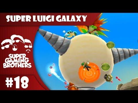 SGB Play: Super Luigi Galaxy - Part 18   Dry Bone Hell!