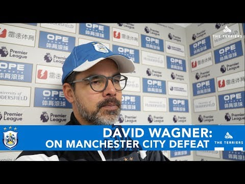 WATCH: David Wagner reflects on Manchester City defeat