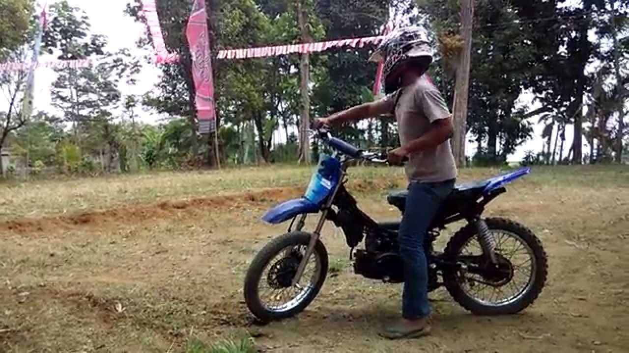 Modifikasi Yamaha F1ZR Ala Mini Trail Offroad