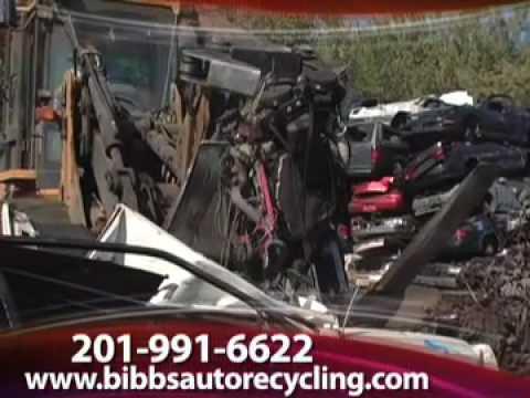 Junk Cars For Cash Nj >> Bib's Auto Wreckers, Kearny, NJ - YouTube