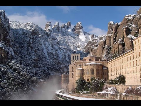 The Mysterious Montserrat Mountain Of Spain
