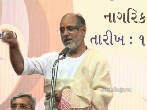 City of Ahmedabad gives public felicitation to Harshida Rawal and Janardan Rawal