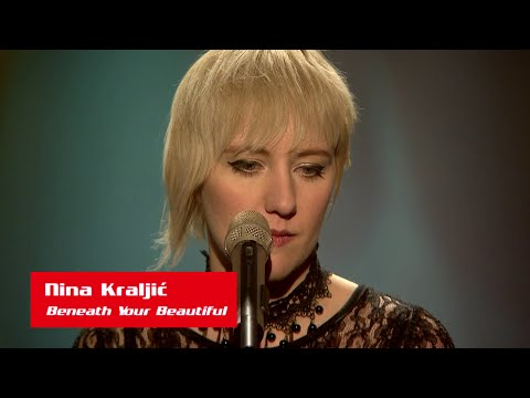 "Nina Kraljić: ""Beneath Your Beautiful"" - The Voice of Croatia - Season1 - Blind Auditions3"