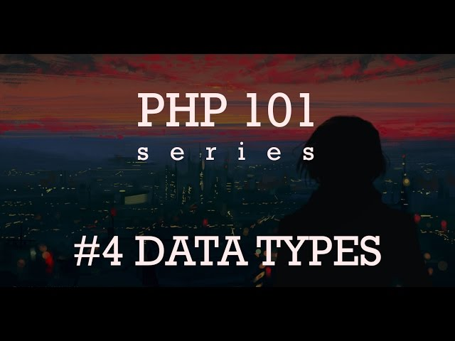 Основы PHP - Типы данных #4