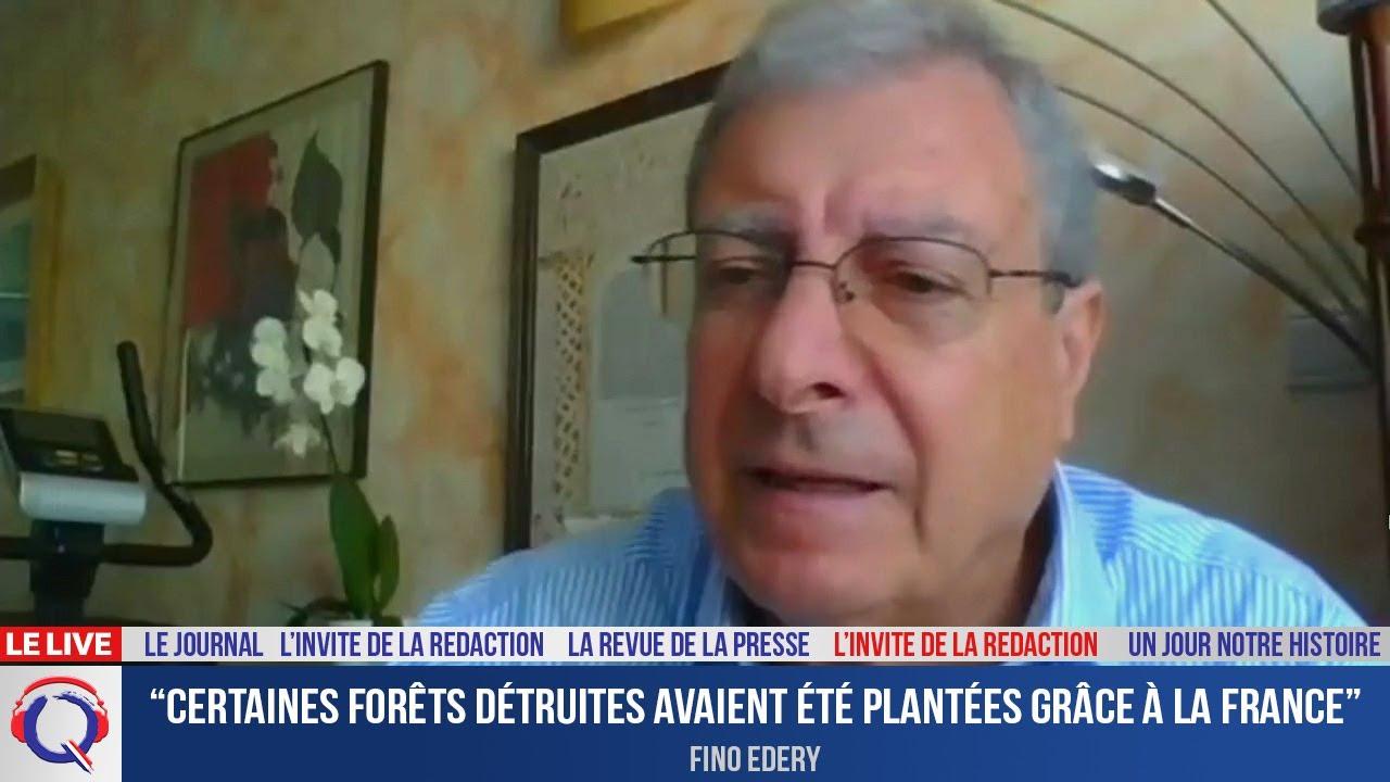 """""""Certaines forêts détruites avaient été plantées grâce à la France"""" - L'invité du 18 aout 2021"""
