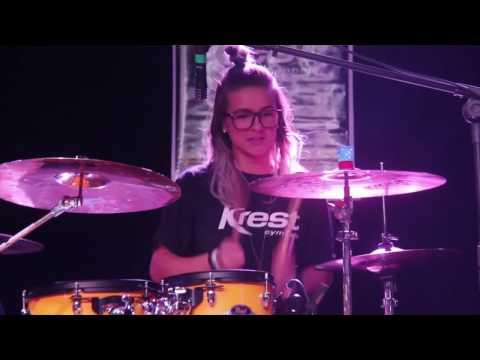 Drums - Rayani Martins - Krest Team Gospel Day