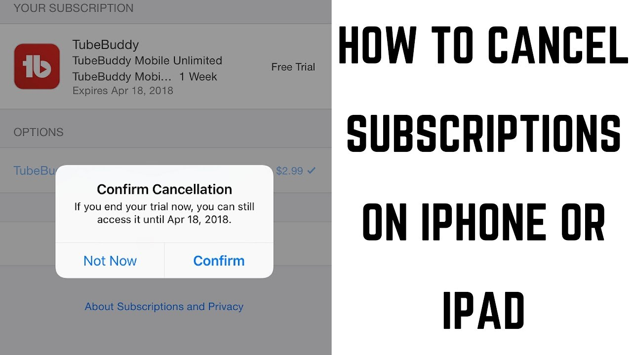 How To Cancel iOS App Store Subscriptions | Ubergizmo
