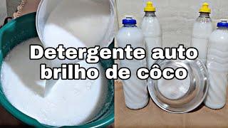 Detergente Desengordurante de Coco Feito com Sabão Artesanal sem Soda