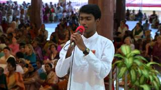 Gratitude Programme by Students of Prasanthi Nilayam Campus - 15 Mar 2015