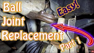 DIY Upper and Lower Ball Joint Replacement Part 1 - Chevy Blazer How to Replace Upper Ball Joint
