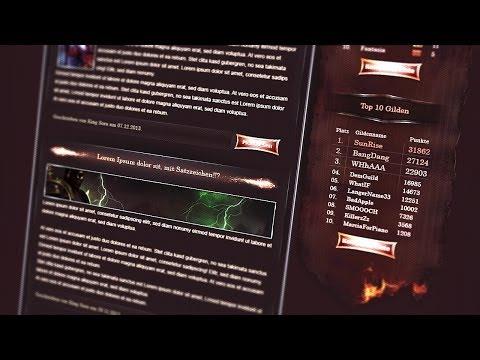 Speed Webdesign - Zentoria (HTML & CSS)