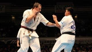 THE 10th WORLD KARATE CHAMPIONSHIP Men 2nd round Donatas Imbras vs ...