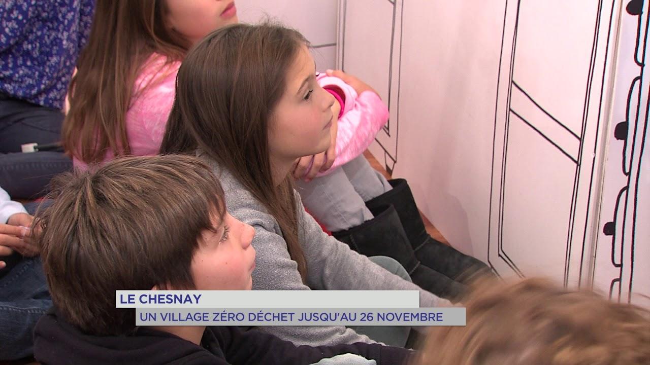 """Le Chesnay : un village """"zéro déchet"""" jusqu'au 26 novembre"""