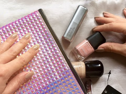 ASMR Funky Makeup Bag UNBOXING KIKO MILANO Haul, no talking