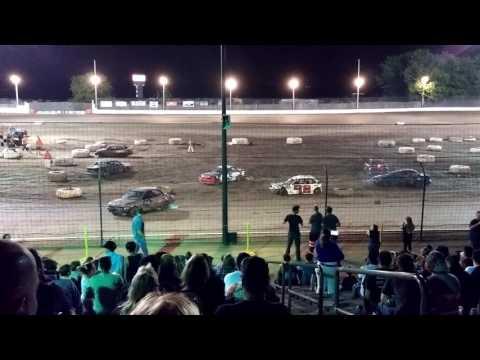 Sycamore Speedway Demolition Derby 06/03/2016