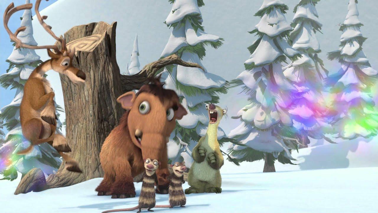 Ice Age A Mammoth Christmas.Ice Age A Mammoth Christmas 4 D Trailer
