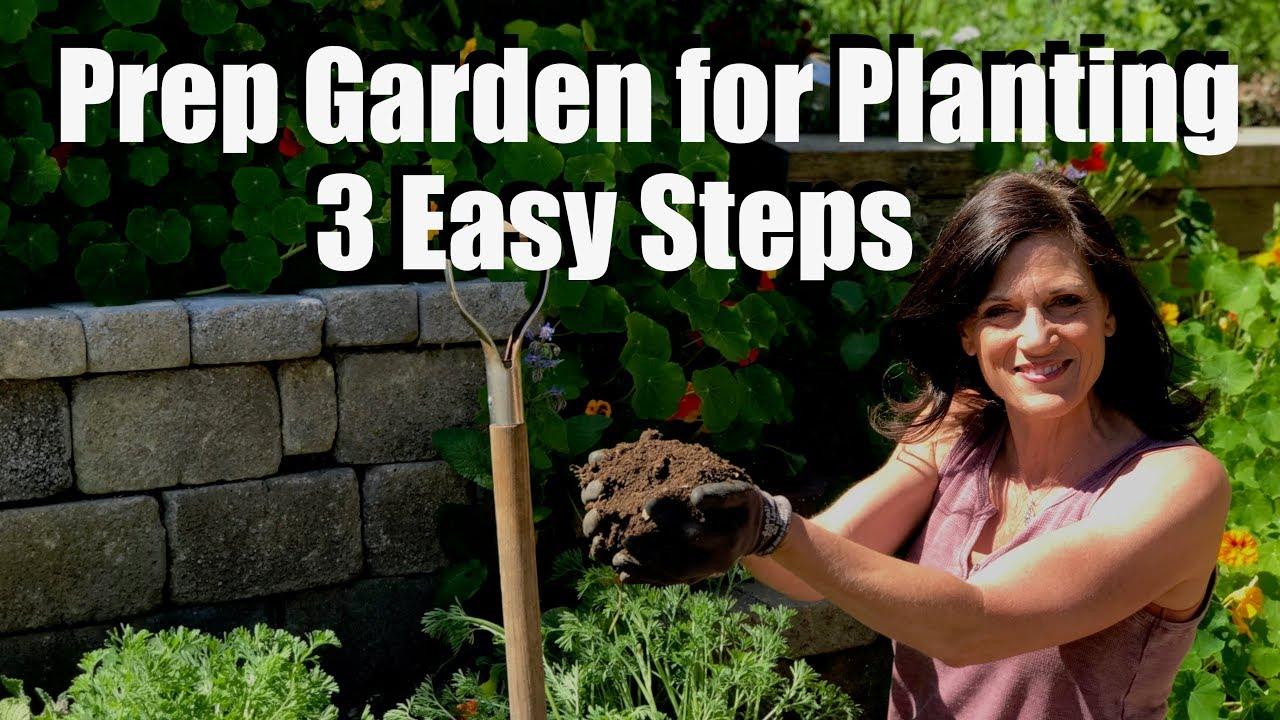 Garden Bed For Planting Vegetable