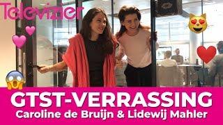Janine Elschot en Marieke de Moor uit GTST verrassen fan