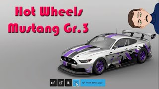 A HOT WHEELS MUSTANG??? Gran Turismo Sport Ford Mustang Gr.3 Livery
