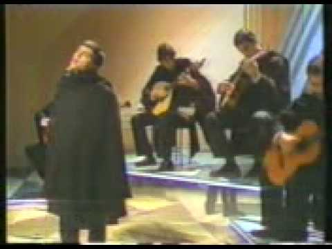Male fado singers in the tradition of Coimbra