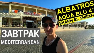 Albatros Aqua Blu Sharm El Sheikh 4 обзор питания Завтрак ресторан Mediterranea Отдых в Египте