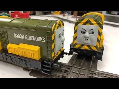 Iron Bert and Iron Arry on Old Lionel Train Layout! Haul and Test