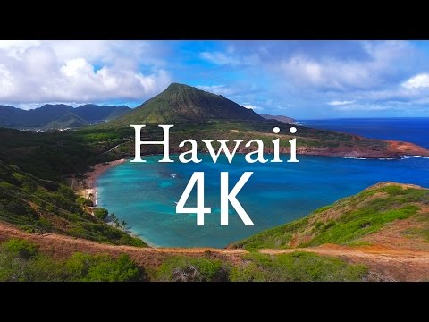 My Trip to Hawaii | 4k Drone Footage