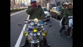 2017.3.1 ザ・コレクターズ 武道館 スクーターラン.